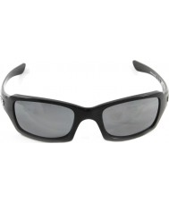 Oakley Oo9238-06 pětky hranaté lesklé černé - black iridium polarizované sluneční brýle