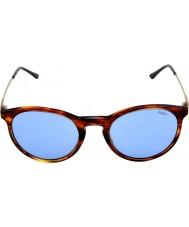 Polo Ralph Lauren Ph4096 50 klasický vkus pruhované Havana 500772 sluneční brýle