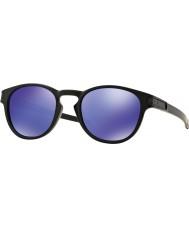 Oakley Oo9265-06 západka matná černá - fialová iridium sluneční brýle