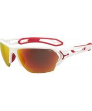 Cebe Cbstl11 s-track bílých slunečních brýlí