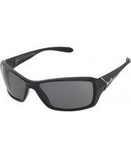 Cebe Pohybové lesklé černé polarizované sluneční brýle