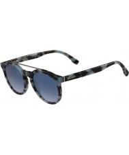 Lacoste L821s azurově sluneční brýle Havana