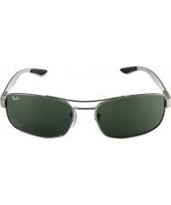 RayBan Rb8316 62 tech karbonová vlákna z červeného bronzu zelené 004 sluneční brýle