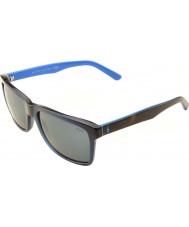 Polo Ralph Lauren Ph4098 57 ležérní životní transparentní modré 556387 sluneční brýle