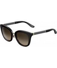 Jimmy Choo Dámy Fabry-s fa3 J6 černé třpytivé sluneční brýle