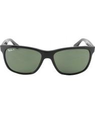 RayBan Rb4181 57 highstreet černá 601-9a polarizované sluneční brýle