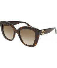 Gucci Dámské gg0327s 002 52 sluneční brýle