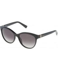 Nina Ricci Dámské snr003-700 lesklé černé sluneční brýle
