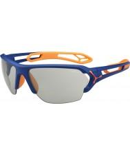 Cebe S-track velké matné Blue Orange variochrom Perfo sluneční brýle