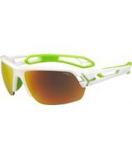 Cebe Cbstm11 s-track bílých slunečních brýlí