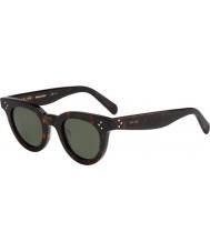 Celine Dámy cl 41375-S 086 85 tmavé sluneční brýle havana