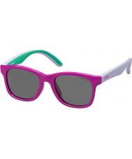 Polaroid Děti pld8001-T37 s y2 fuchsie šeřík polarizované sluneční brýle