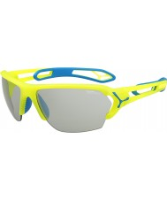 Cebe S-track velké pro neonově žluté variochrom Perfo sluneční brýle