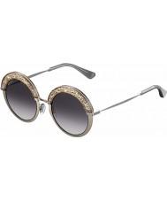 Jimmy Choo Dámy Gotha-S 68i 9c 50 nude sluneční brýle palladia