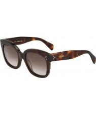 Celine Dámy cl 41805-S 05 l ha tortoiseshell sluneční brýle