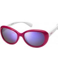 Polaroid Dětské pld8004-y t4l mf červené polarizované sluneční brýle
