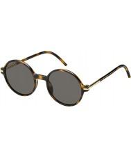 Marc Jacobs Pánská Marc-48 s TLR 8h Havana sluneční brýle