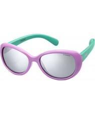 Polaroid Dětské pld8004-y t5f jb šeřík polarizované sluneční brýle