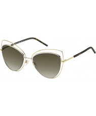 Marc Jacobs Dámy Marc 8-S APQ ha zlaté tmavé sluneční brýle havana