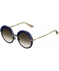 Jimmy Choo Dámská Gotha-S 3ue js modré zlaté sluneční brýle