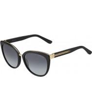 Jimmy Choo Dámy dana-s 10e hd černé sluneční brýle