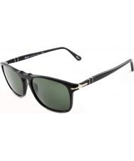 Persol Po3059s 54 suprema černé 95-31 sluneční brýle