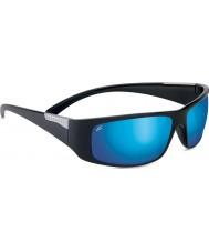 Serengeti Fasano lesklá černá polarizované PhD 555nm modré zrcadlové sluneční brýle