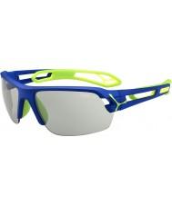 Cebe S-sledovat středně tmavě modré zelené variochrom Perfo sluneční brýle