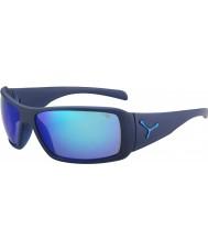 Cebe Utopy matt blue 1500 šedý záblesk zrcadlo modré sluneční brýle