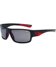 Cebe Whisper matná černá červená 1500 šedá polarizovaná blesk zrcadlové sluneční brýle