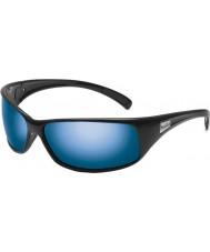 Bolle Recoil lesklé černé polarizované offshore modré sluneční brýle