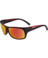 Bolle Viper matná černá červená TNS požární sluneční brýle