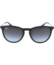 RayBan Rb4171 54 Erika gumové černé sluneční brýle 622-8g