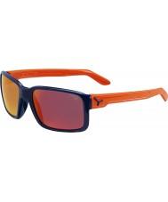 Cebe Dude lesklé modré oranžové sluneční brýle