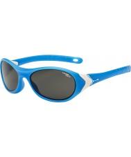 Cebe Kriket (ve věku 3-5) matná azurovou bílá 1500 šedá modré světlo sluneční brýle