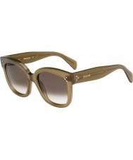 Celine Dámy cl 41805-S qp4 Z3 vojenská zelená sluneční brýle
