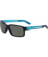 Cebe Dude matná černá průzračně modré sluneční brýle