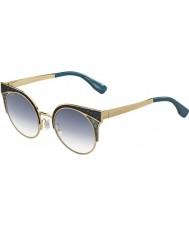 Jimmy Choo Dámy Ora-S psx U3 zlaté vojenské zelené sluneční brýle