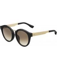 Jimmy Choo Dámský Pepy-S QFE jd black rose zlaté sluneční brýle