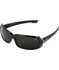 Cebe Rtěnka (věk 9 plus) lesklé černé 2000 šedé sluneční brýle