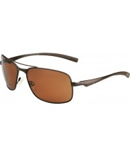 Bolle Skylar matné hnědé polarizovaný pískovcové pistole sluneční brýle