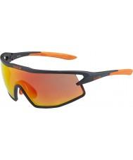 Bolle B-rockové matná černá a oranžová TNS požární sluneční brýle