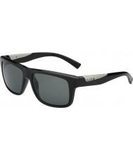 Bolle Clint lesklé černé polarizované sluneční brýle TNS