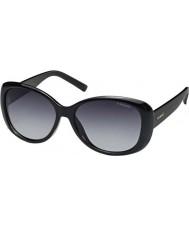 Polaroid Pld4014-s D28 wj lesklé černé polarizované sluneční brýle