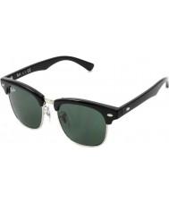 RayBan Junior Rj9050s 45 clubmaster černé brýle 100-71