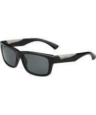 Bolle Jude lesklé černé polarizované sluneční brýle TNS