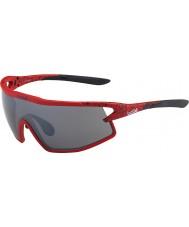 Bolle B-rockové matná černá a červená TNS pistole sluneční brýle