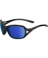Bolle Sölden lesklé černé modrofialové sluneční brýle