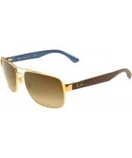RayBan Rb3530 58 highstreet zlaté 001-13 gradientní sluneční brýle