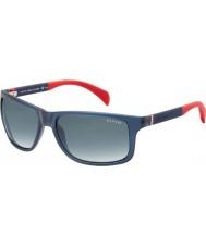 Tommy Hilfiger Th 1257-S 4nk JJ modrá červená sluneční brýle